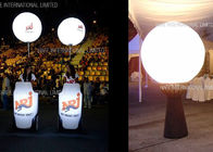 1.6m Tripod Moon Crystal Balloon Lighting With 200W LED For Events Decoration