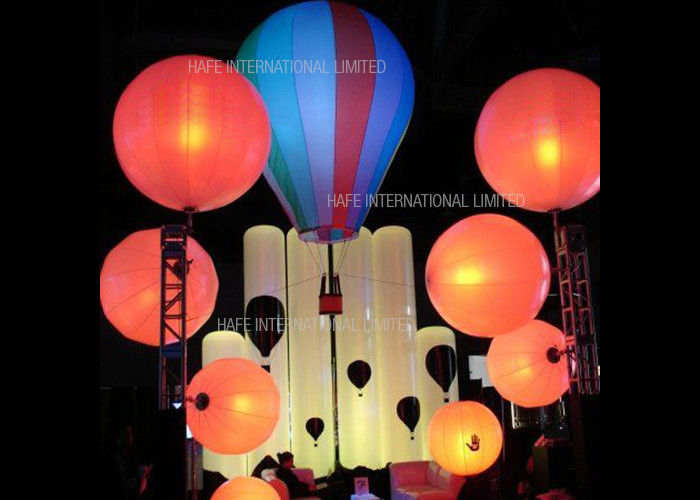 Floating Advertising Inflatable Lighting Decoration Balloon 800 Watt Used On Water