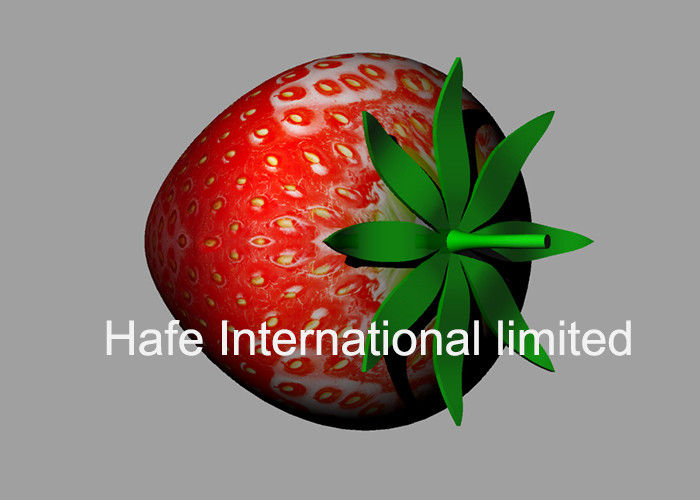 Red Color 5M Height Inflatable Strawberry With 10M Rope For Fruit Festival UK